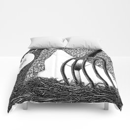 asc 588 - La fille dans la grange II (Caution Stranger, forks are danger) Comforters