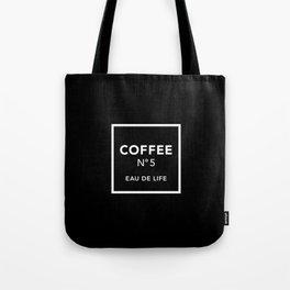 Black Coffee No5 Tote Bag