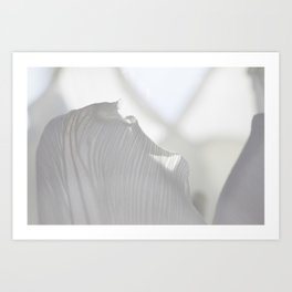 white dream 0.2 Art Print