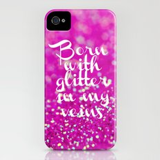 Glitter in my Veins II (Photo of Glitter) iPhone (4, 4s) Slim Case