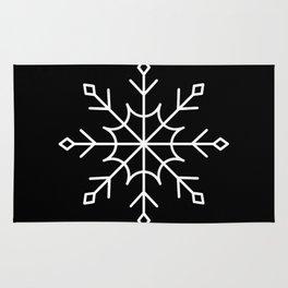 Give Me a Black & White Christmas - 1 Rug