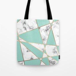 Marble Geometry 055 Tote Bag