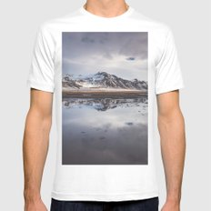 Perfect morning White MEDIUM Mens Fitted Tee