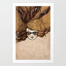 Freckles Art Print