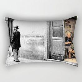 Vulture: old shoemaker Rectangular Pillow