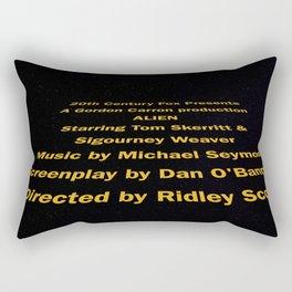 Alien cast & crew Rectangular Pillow