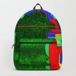 Art meets nature ... Backpack