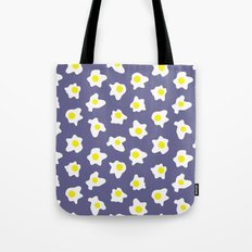 Eggs Over Blue Tote Bag