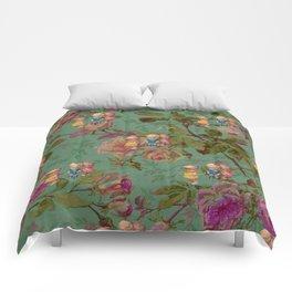 Hooping in The Rose Garden Comforters