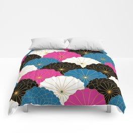 Japanese Chrysanthemum 2 Comforters