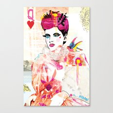 La Queen De Dimanche / The Queen of Sunday Canvas Print