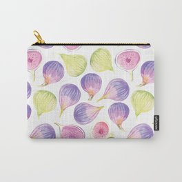 Watercolor Figs Carry-All Pouch