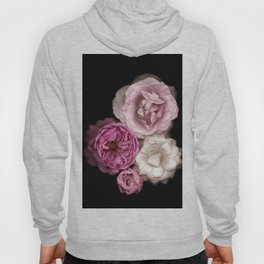 Purple, Pink, and White Roses Hoody