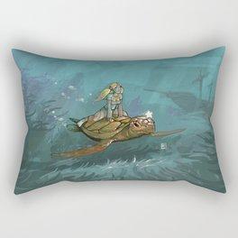 Tortue Rectangular Pillow