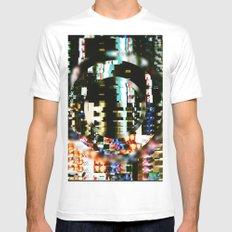The Interference Mens Fitted Tee MEDIUM White