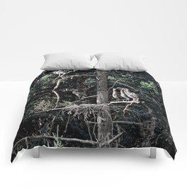 Family of Herons.... Comforters