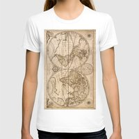 world maps T-shirts featuring Old Maps by tanduksapi