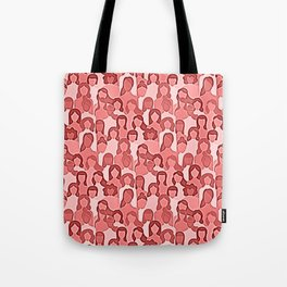 Together Strong - Women Power Coral Tote Bag