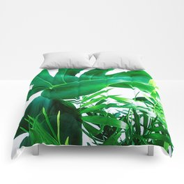 Tropical Display Comforters