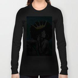 Naturally Queen VI  TEAL Langarmshirt