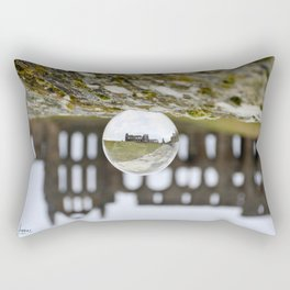 Whitby abbey Rectangular Pillow