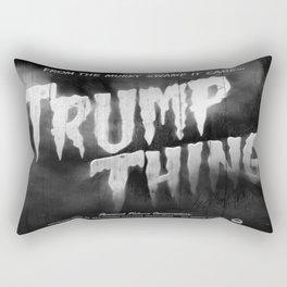 Trump Thing! with subtitle Rectangular Pillow