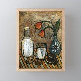 Milk andCookies Framed Mini Art Print