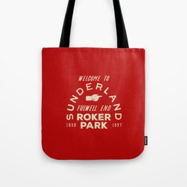 Roker Park Football Ground Tote Bag