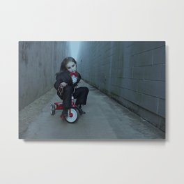 Miss Saw Metal Print
