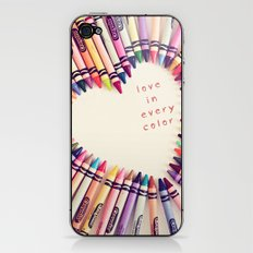 love in every color iPhone & iPod Skin