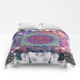 Unlocked Level Mandala Comforters