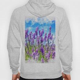 Lavender fields Hoody