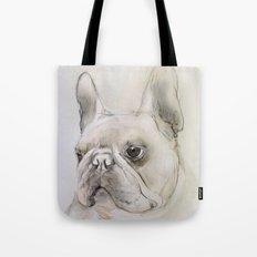 Frenchie portrait Tote Bag