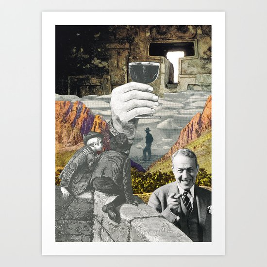 Here's To You Art Print