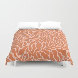 Abundance | Orange & Pink Duvet Cover