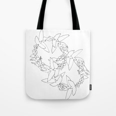 Flying in Circles Tote Bag