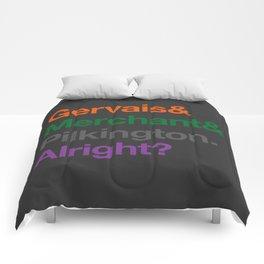 Alright? Comforters