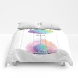 kitty cat by dana alfonso Comforters