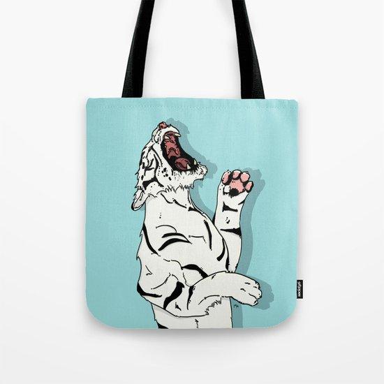 Tigre Blanc Tote Bag