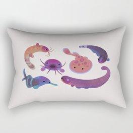 Electric fish Rectangular Pillow