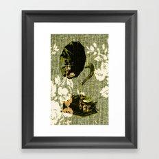 Dueling Phonographs VIII Framed Art Print