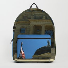 Montana State Capitol Backpack