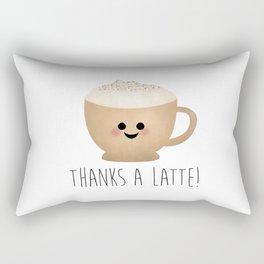Thanks A Latte Rectangular Pillow