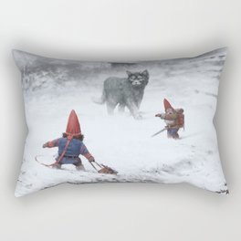 furry demon Rectangular Pillow