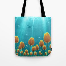 Tulips under the Sea Tote Bag