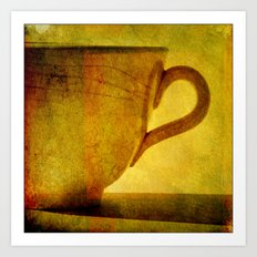 I would love a cup of tea ..... Art Print