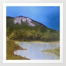Mountain Lake I Art Print