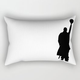 #TheJumpmanSeries, Omar Comin' Rectangular Pillow