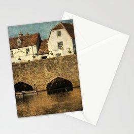 The Bridge At Abingdon Stationery Cards