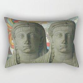 ...2... Rectangular Pillow